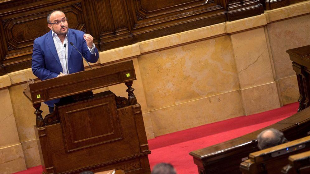 Foto: El diputado del PPC, Alejandro Fernández. (EFE)