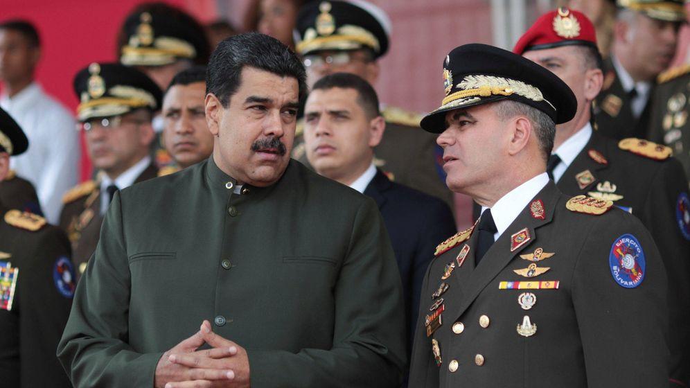 Foto: Nicolás Maduro y Vladimir Padrino. (Reuters)