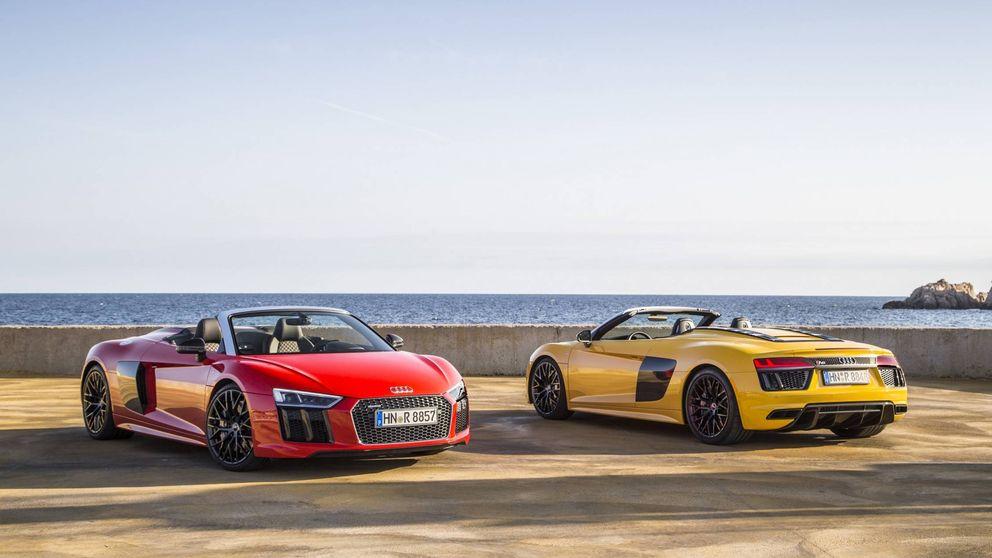 Audi R8 Spider, deportividad a cielo abierto