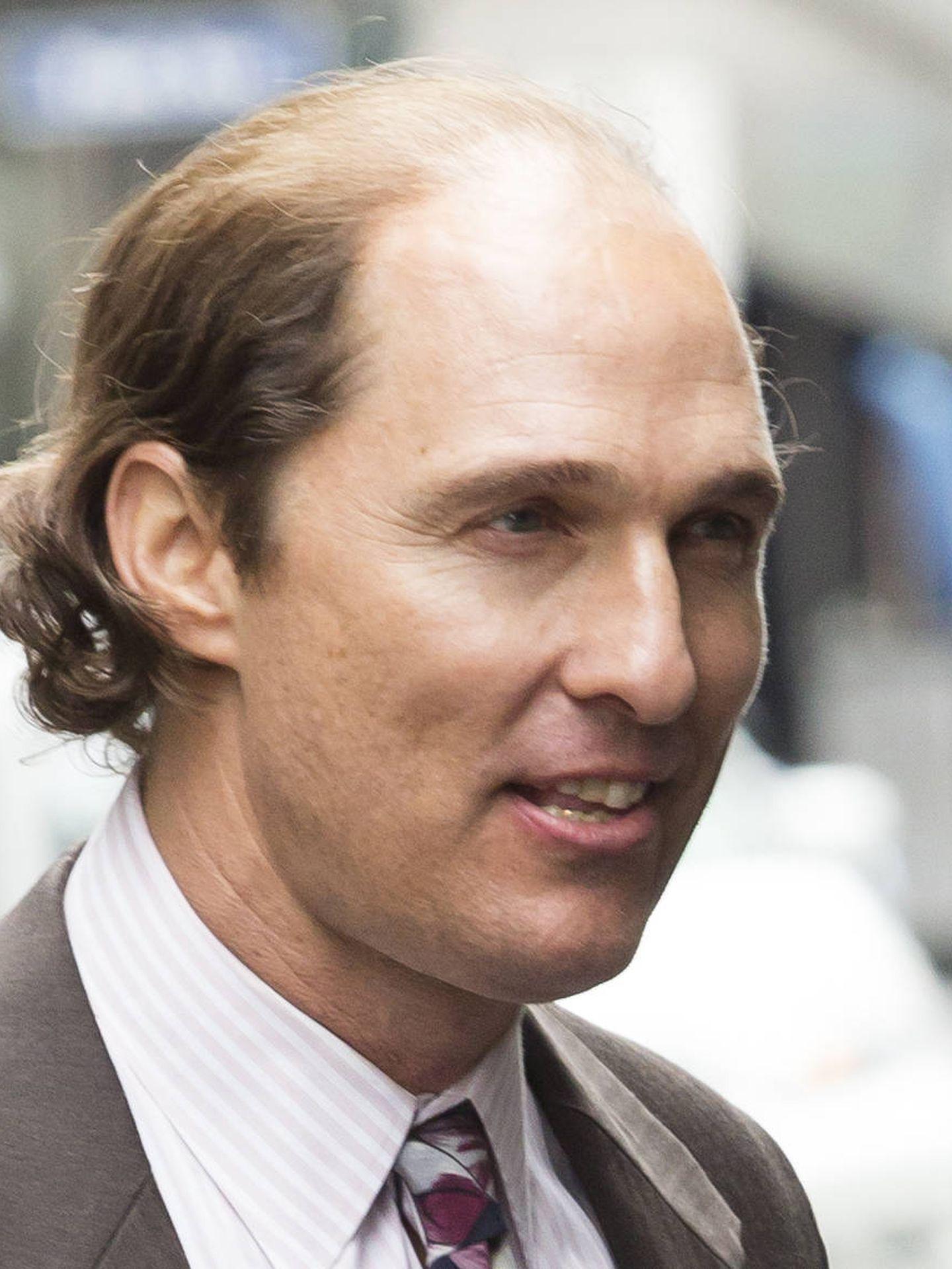 Matthew McConaughey en una imagen de la grabación de 'Gold' (Gtres)