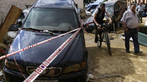 La localidad de Tafalla (Navarra) se llena de barro por las inundaciones