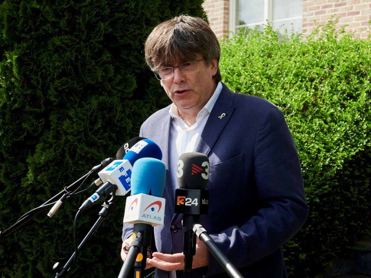 Foto: El 'expresident' Carles Puigdemont. (EFE)