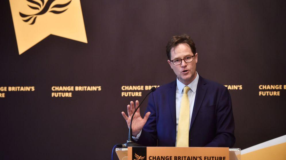 Foto: El antiguo líder del partido Liberal Demócrata, Nick Clegg. (Reuters)