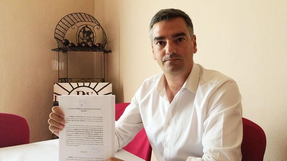 Foto: Manuel Varela, candidato de Ciudadanos en Dos Hermanas.