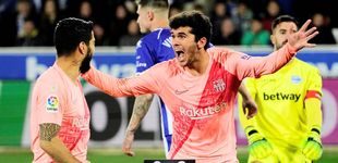 Post de La ambición de Carles Aleñá, el jugador que cuestionaa De Jong en el Barcelona