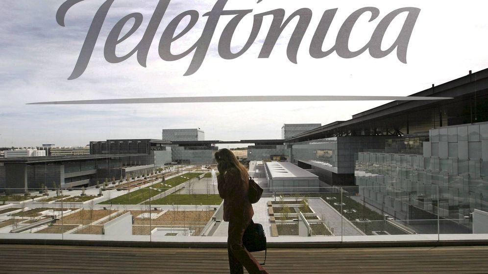 Foto: Sede de Telefónica en el PAU de Las Tablas (Madrid). (EFE)