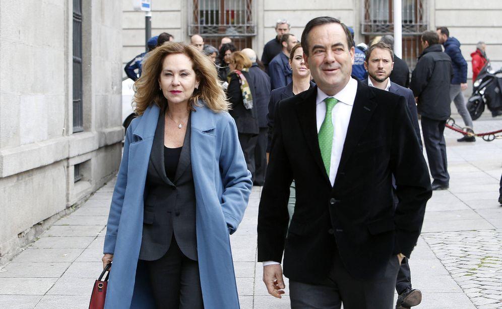 Foto: José Bono y Ana Rodríguez. (Gtres)