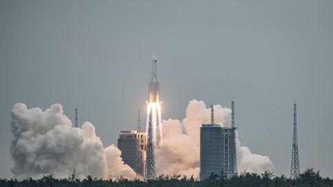 El cohete chino se desintegra al entrar en la atmósfera y cae en el océano Índico