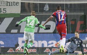El Wolfsburgo le mete al Bayern los mismos goles que en 17 jornadas