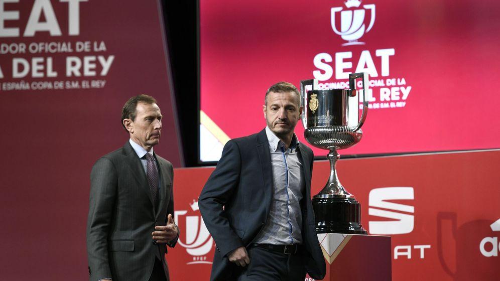 Foto: Imagen del sorteo de Copa del Rey celebrado este viernes. (EFE)