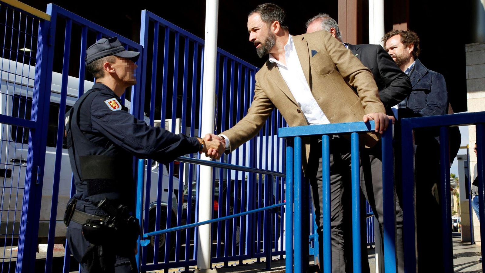 Foto: Imagen de archivo de Santiago Abascal en Melilla. (EFE)