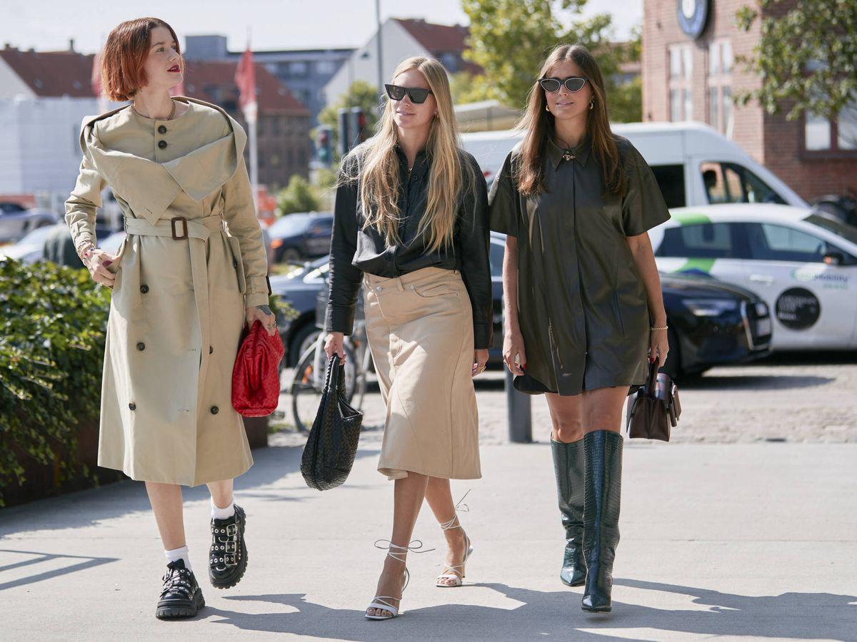 Foto: Descubre cómo adaptar una misma prenda a tres estilos diferentes. (Imaxtree)