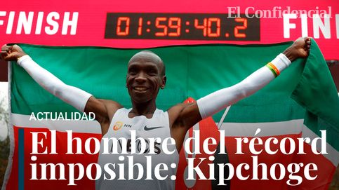 Eliud Kipchoge, su histórico récord de maratón (1:59:40) y sus zapatillas 'mágicas'
