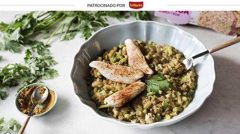 Quinoa al curry con solomillos de pollo: aromas de Asia y América en tu plato