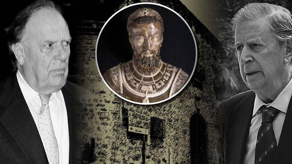 La familia Falcó, obligada a sacar de la puja un busto que les regaló Carlos V