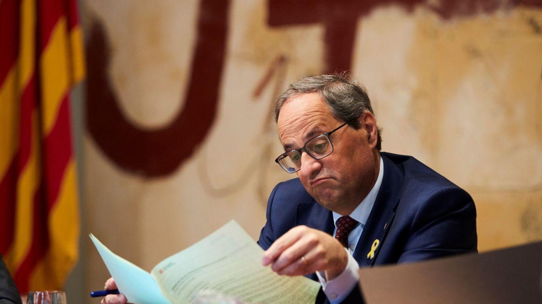 Torra ve una gravísima irresponsabilidad adelantar las elecciones en Cataluña
