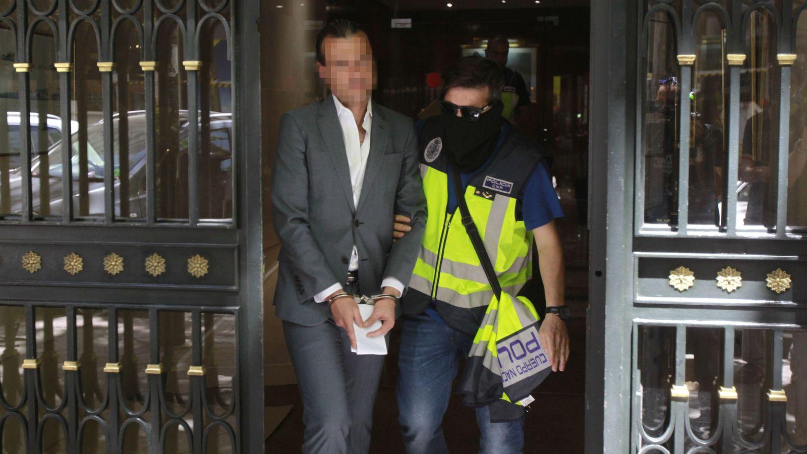 Foto: José Luis Aneri, cuando fue detenido por segunda vez en mayo de 2017.