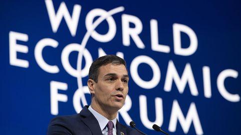 Sánchez explica a Davos en qué se ha convertido el socialismo. Y están encantados
