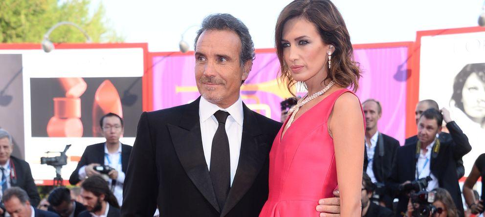 Foto: La modelo Nieves Álvarez y el fotógrafo Marco Severini en una imagen de archivo (Gtres)