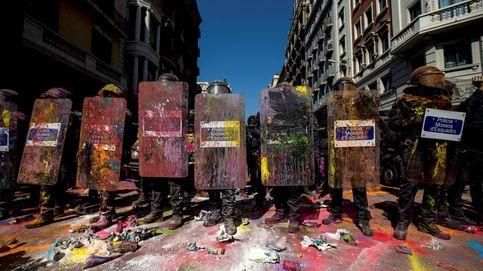 Los radicales buscan el cuerpo a cuerpo en las calles y meten presión a Torra