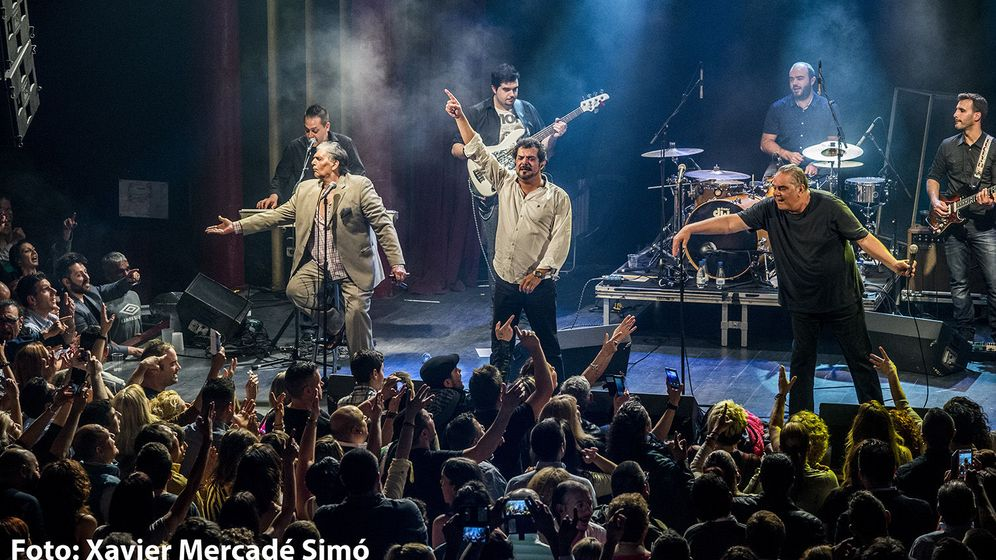 Foto: Los Chichos en la Sala Apolo de Barcelona