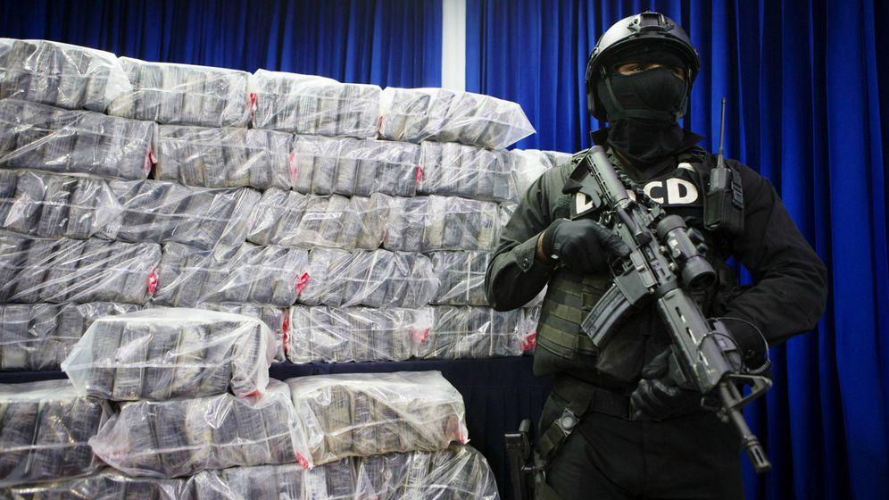 Foto: Alijo de unos 350 kilos de cocaína en República Dominicana. (EFE)