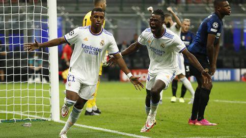 Nace otra estrella brasileña en el Real Madrid: Rodrygo asalta San Siro (0-1)