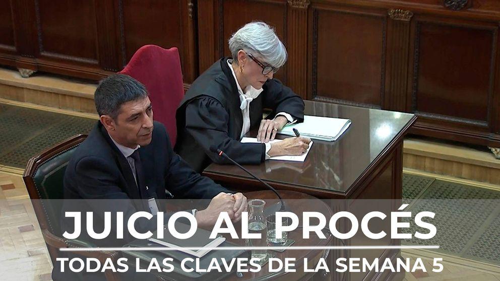 Resumen de la quinta semana del juicio del procés: del 'tal Toni' a las revelaciones de Trapero