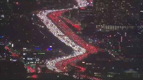 Espectacular atasco en Los Ángeles por Acción de Gracias