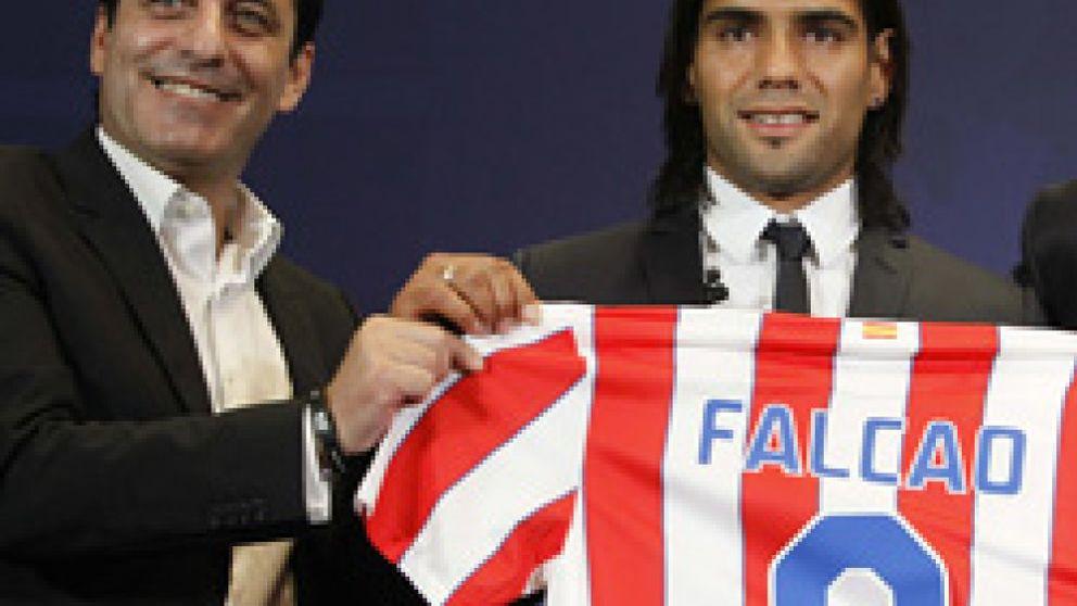 Simeone y Futre, dos símbolos atléticos, enfrentados con el Madrid de por medio