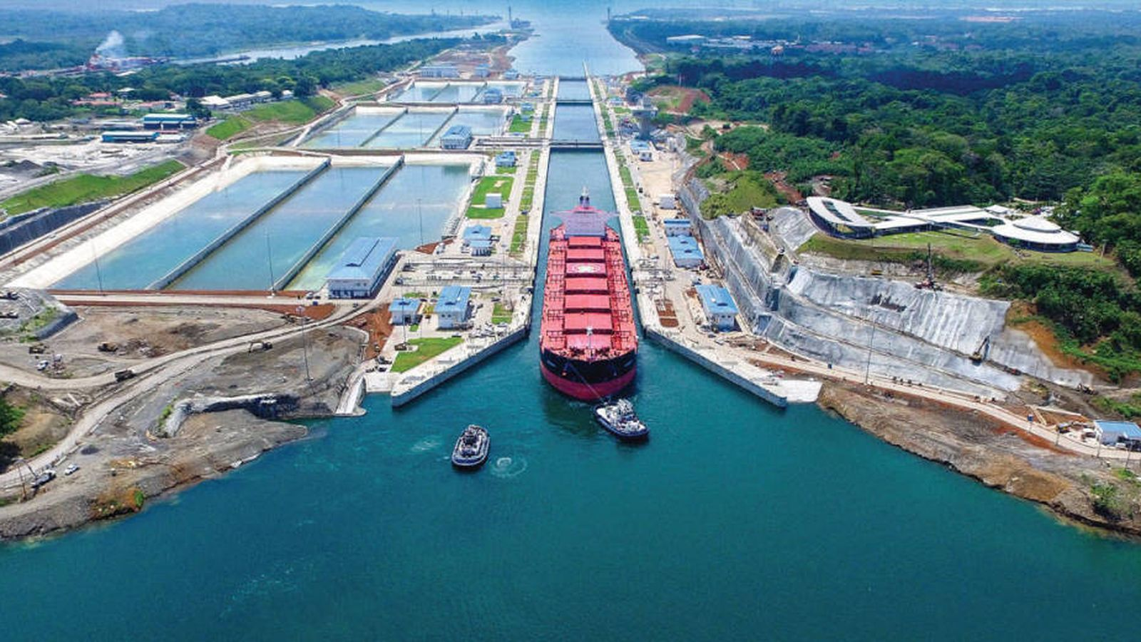 Foto: Ampliación del Canal de Panamá.