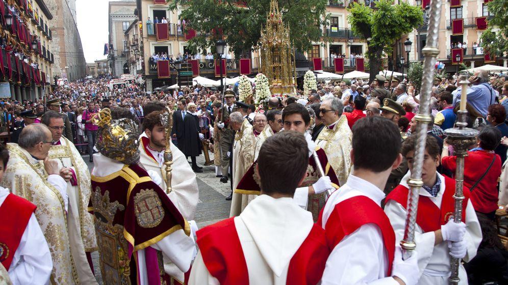Foto: Procesión del Corpus Christi en Toledo | EFE