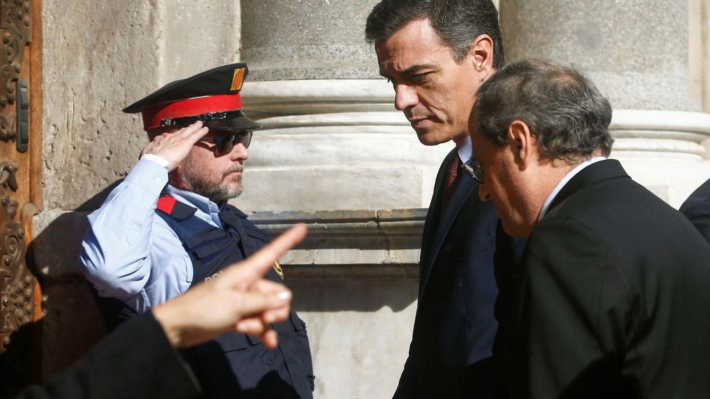Torra cede ante Sánchez e irá a la mesa de diálogo aunque no logre el mediador