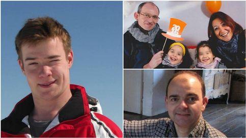 Adelma Tapia, Léopold Hecht, Sebastian Bellin... las víctimas de Bruselas
