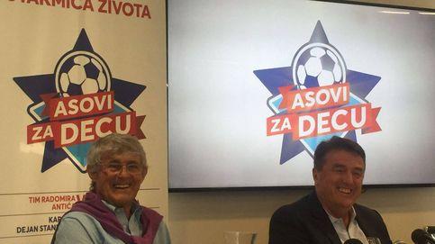Antic y Bora Milutinovic reúnen a sus amigos para luchar contra el cáncer infantil