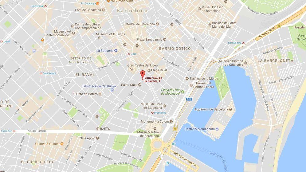 Foto: La calle en donde está Luna de Istanbul, el bar en el que está atrincherado el terrorista (Google)