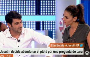 Jesulín de Ubrique abandona el plató de 'Espejo Público' ofendido por una pregunta