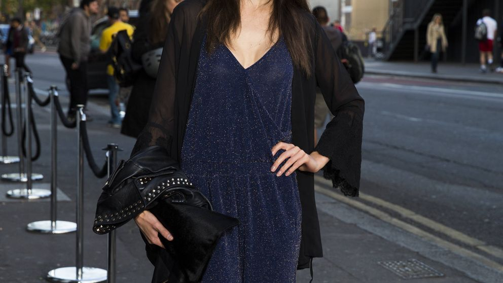 Sarah Ann Macklin, la modelo con la que Harry flirteaba cuando conoció a Meghan