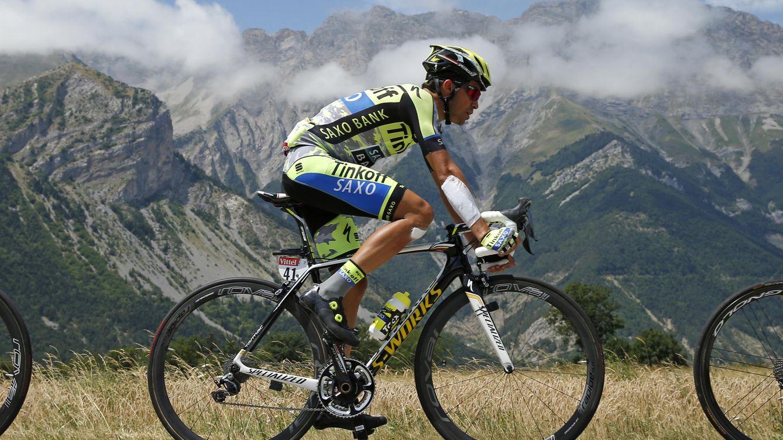 Foto: No será este año cuando Contador gane Giro y Tour (Reuters).