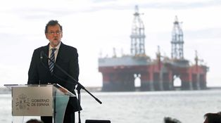 El presidente de Puertos la lía en un acto junto a Rajoy: Alguien perderá su puesto