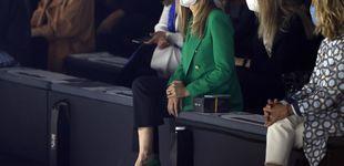 Post de Begoña Gómez, con look a lo Zendaya, cumple con su cita con la moda española