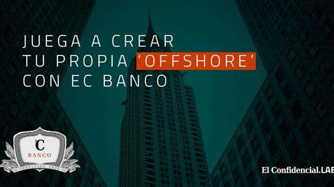 Juega a crear tu sociedad 'offshore' con la complicidad de un banco
