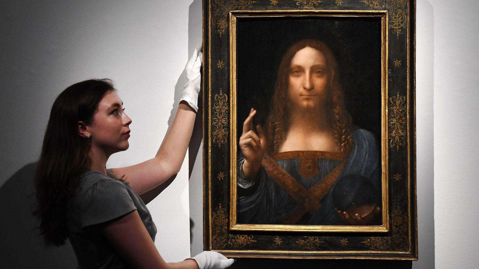 El verdadero rostro del 'Salvator Mundi' de Da Vinci que pone en duda su  autenticidad