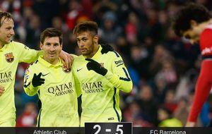 El Messi más democrático da al Barça el papel de principal favorito