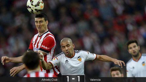 El Valencia se deja dos puntos por culpa de un gol de Aduriz… en fuera de juego