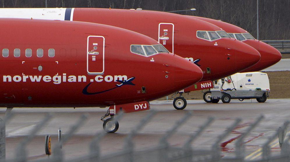 Foto: Aviones Norwegian (Reuters)