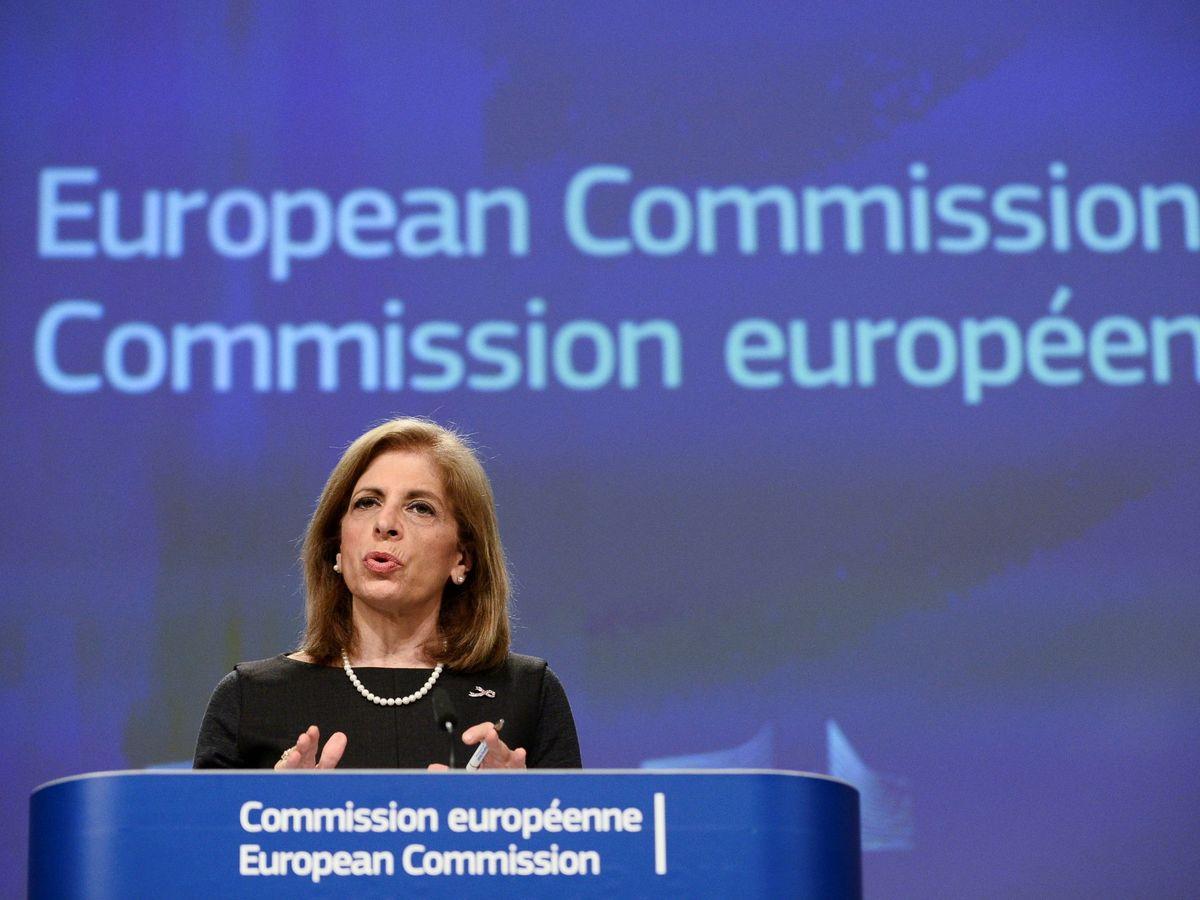 Foto: La comisaria de Salud, Stella Kyriakides (Reuters)
