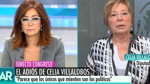 Celia Villalobos da las gracias a Ana Rosa por defenderla de la persecución que sufrió
