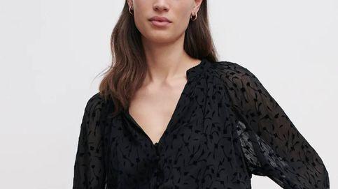 El nuevo vestido negro de Zara es un básico que renueva los clásicos