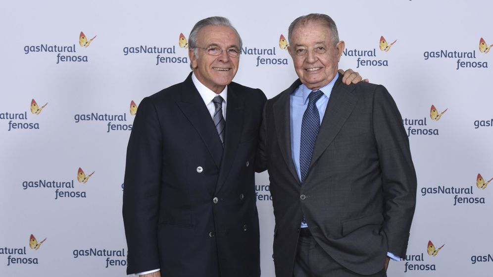 Foto: Fotografía facilitada por Gas Natural cuyo consejo de administración ha elegido hoy presidente a Isidro Fainé (i) en sustitución de Salvador Gabarró. (EFE)